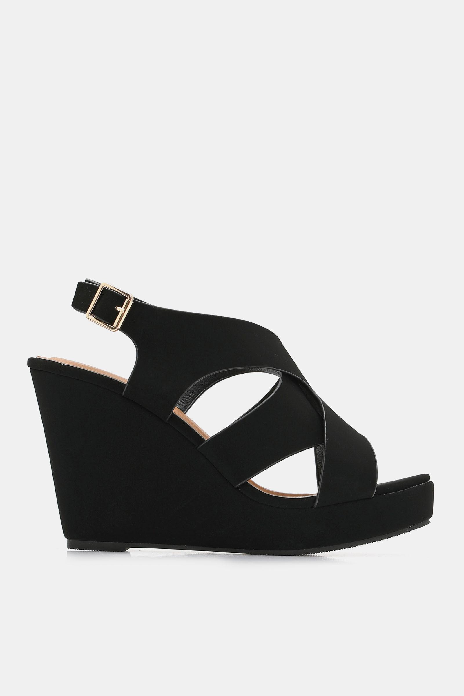 Compensées Sandales Faux Suède ChaussuresArdène En SzVqUMpG
