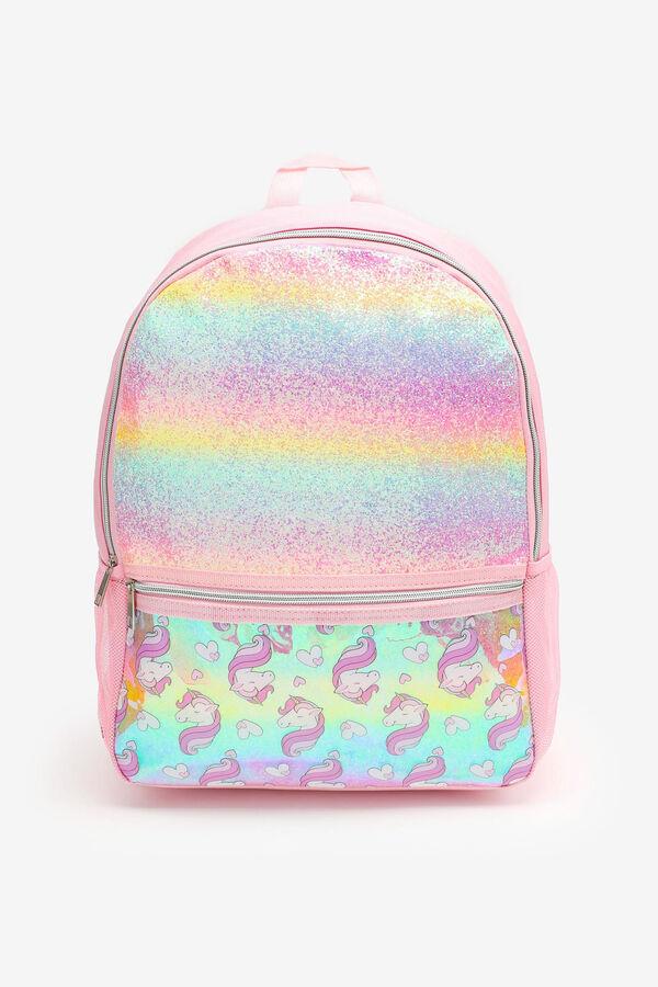 Rainbow Unicorn Backpack for Girls