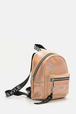 3d1e870bd43 Kendall   Kylie Metallic Faux Leather Backpack