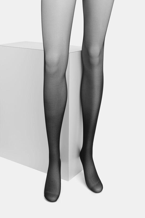 Collants fins avec culotte de maintien