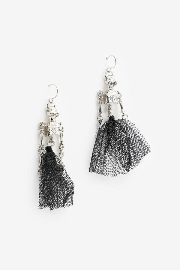 Skeleton Dangling Earrings