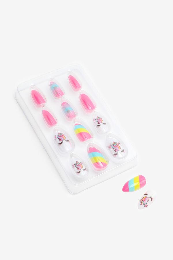 Paquet de faux ongles licornes