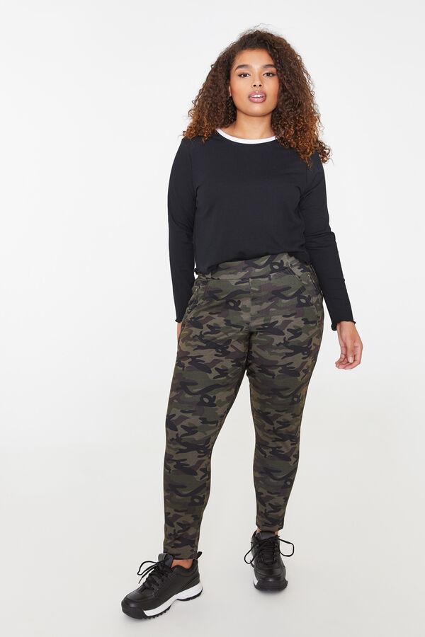 cafedbefdb Ardene Ardene Women's Plus Size Camo Joggers, green, fall winter 2019  CLOTHING, Style 9A ...
