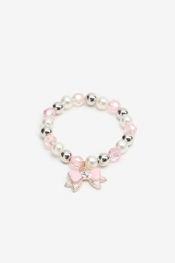 Pearl & Bead Bracelet for Girls