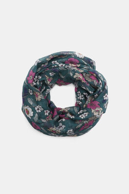 c8f792a69e9f0 Lightweight Floral Infinity Scarf