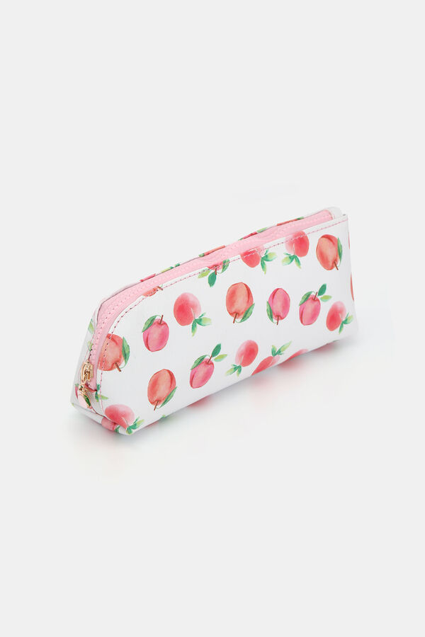 40d6260ed9a3 Peach Print Makeup Bag - Accessories | Ardene