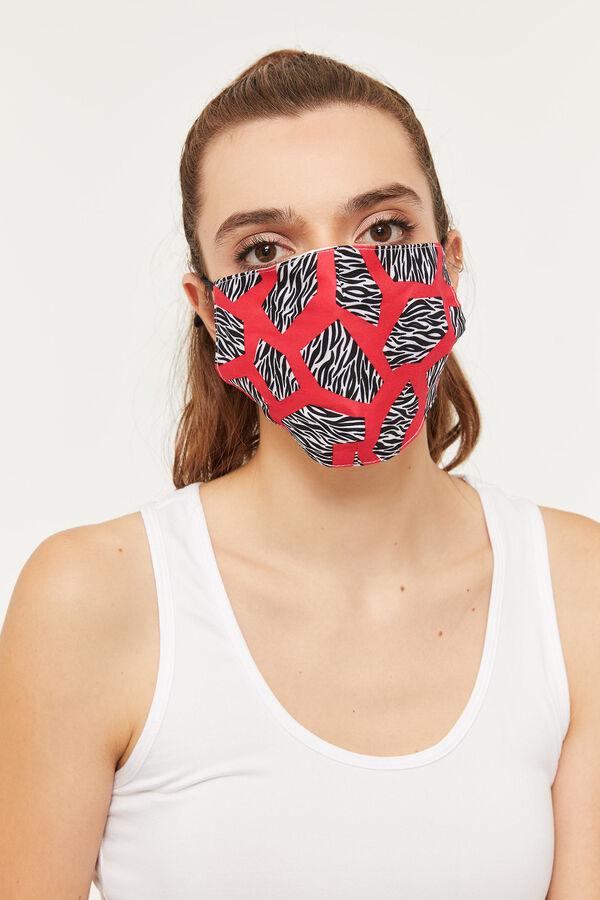 Zebra Reusable Face Covering