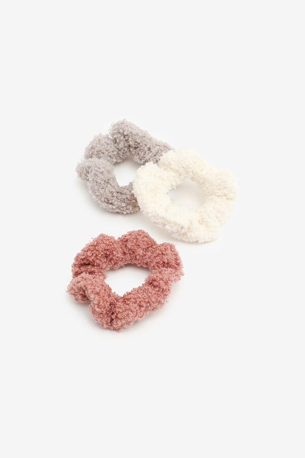 3-Pack Fuzzy Scrunchies