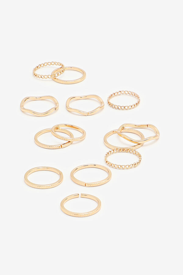 Plain and Textured Mix Rings
