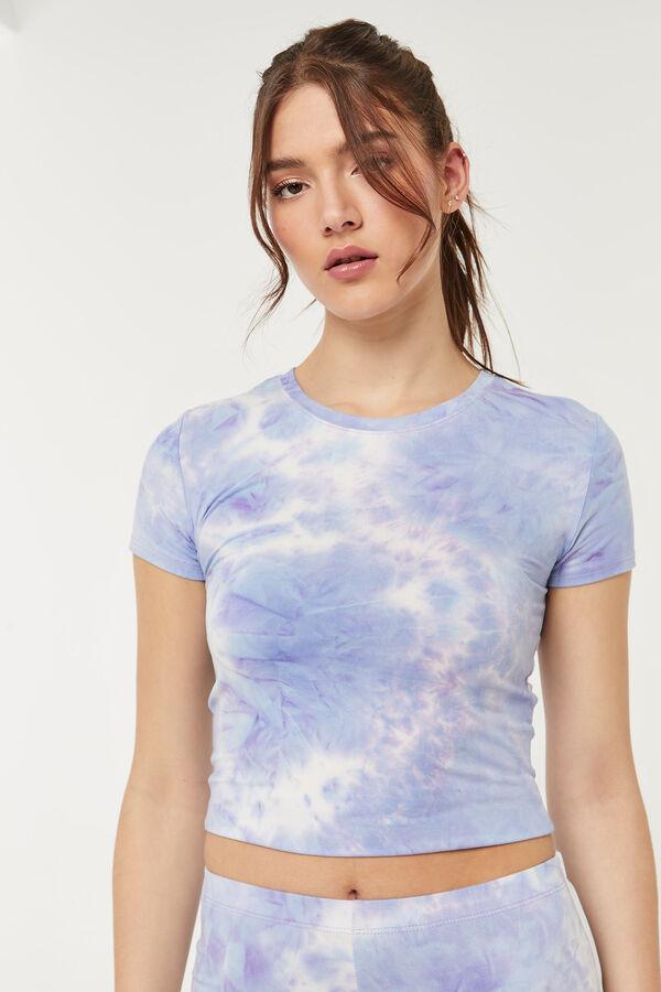 T-shirt ajusté tie-dye