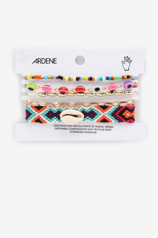 Bracelets de billes assorties