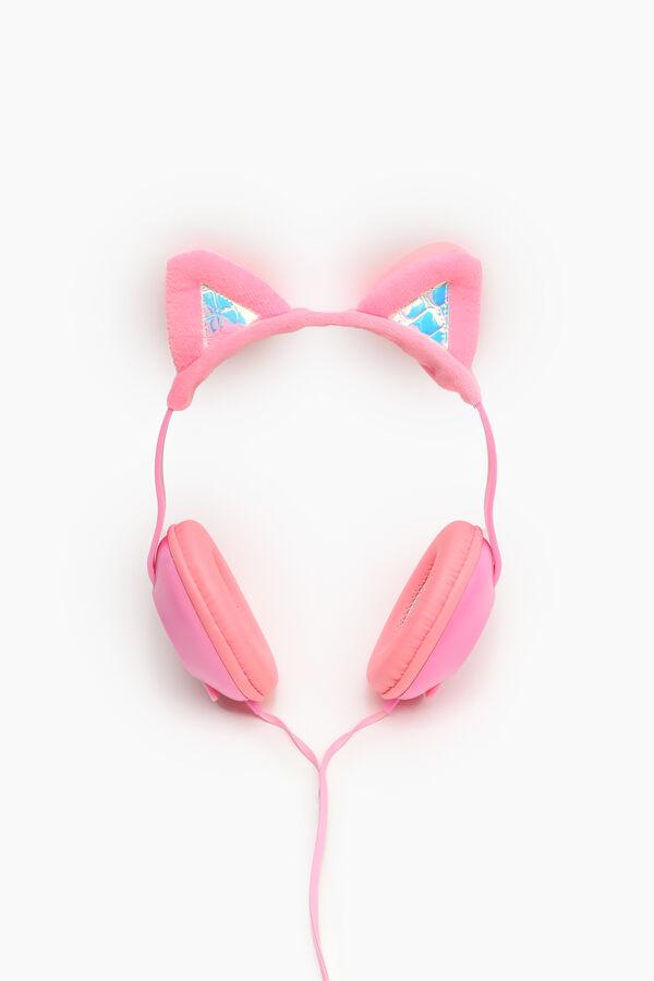 Casque d'écoute pliable oreilles de chat