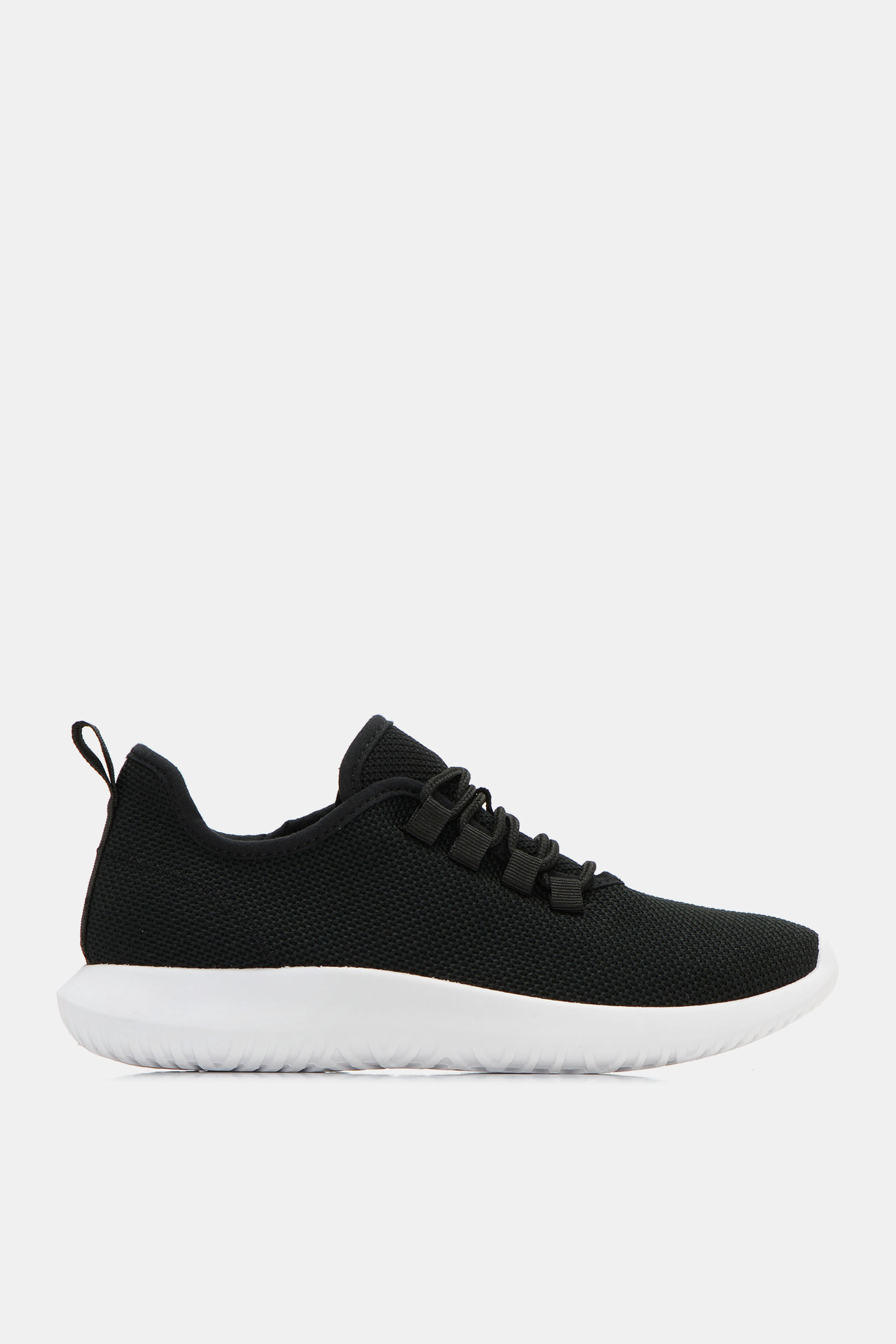Canvas Laced Athletic Sneakers - Shoes