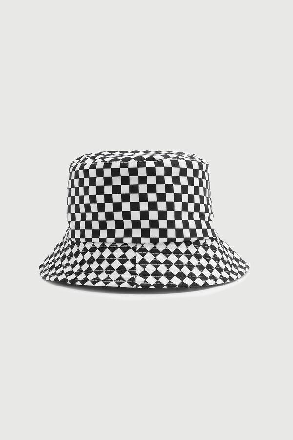 Checkerboard Bucket Hat