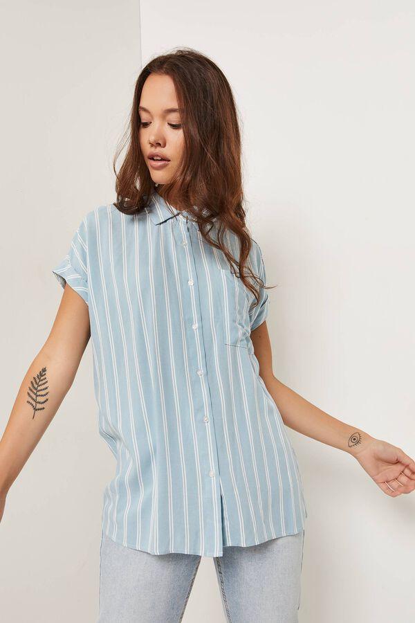 Dolman Button-up Shirt