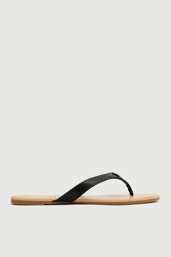Flip-flops à médaillon