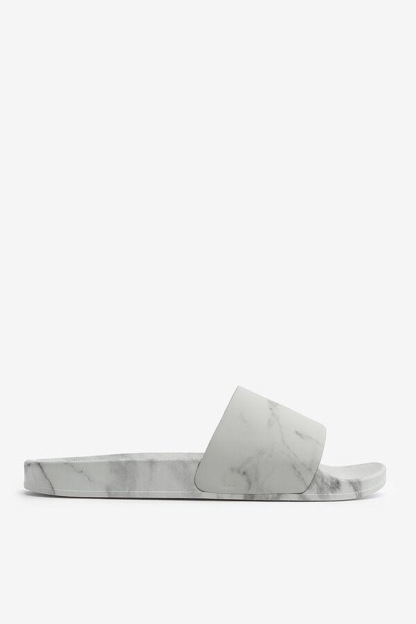 Marbled Slide Sandals