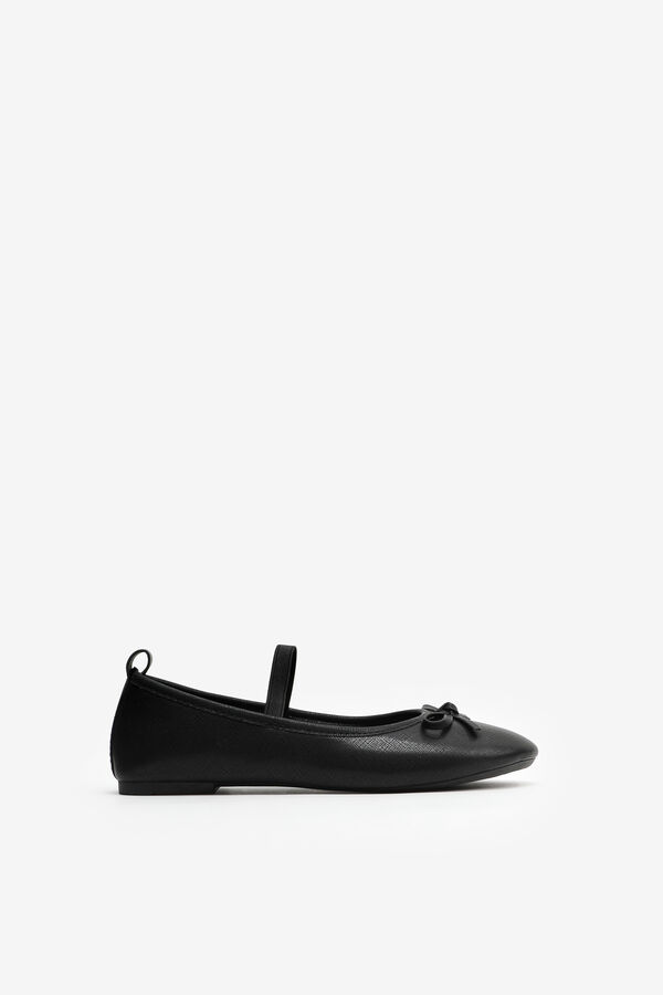 Ballet Flats with Bow for Girls