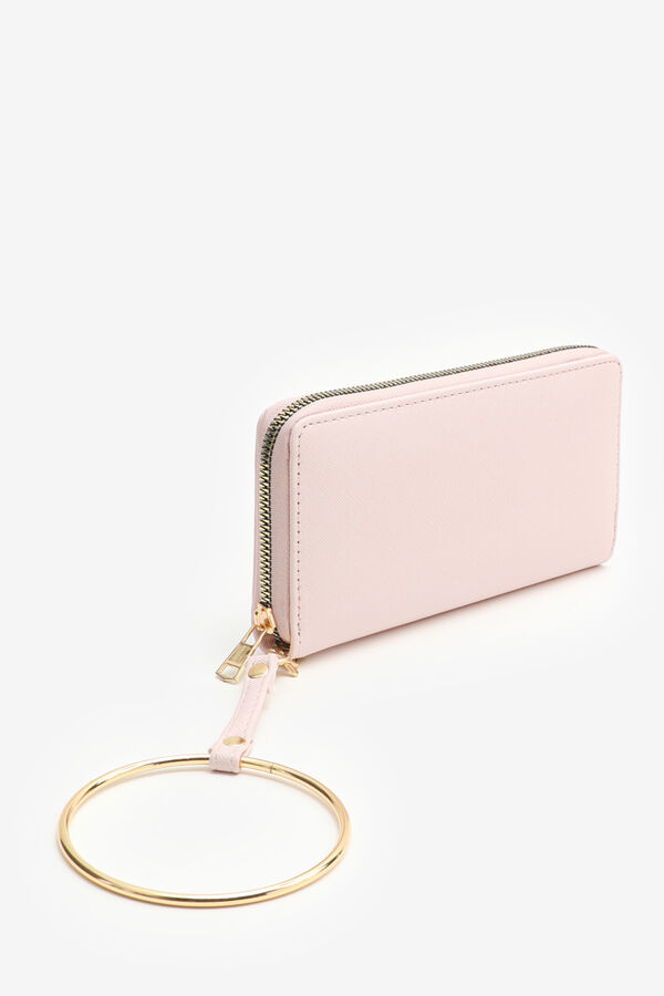 Classic Wallet with Ring Wristlet