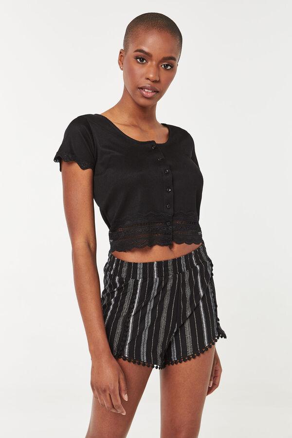 Striped Super Soft Shorts