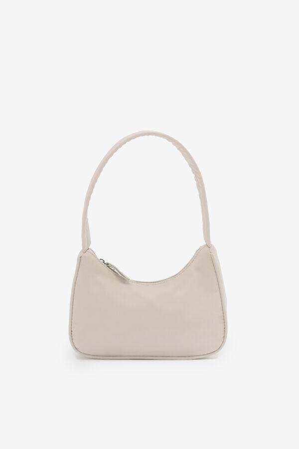 Simple Nylon Baguette Bag