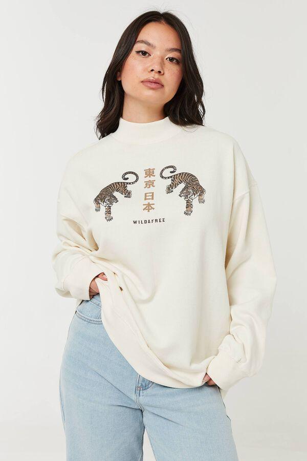 Wild & Free Boyfriend Sweatshirt
