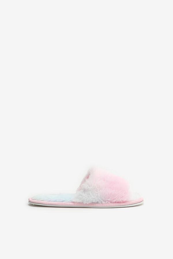 Faux Fur Slide Slippers for Girls