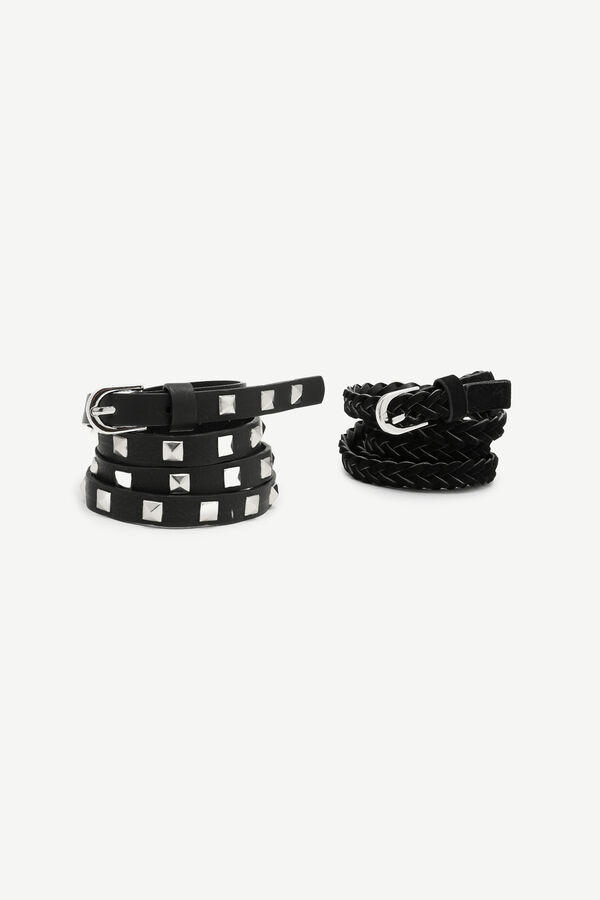 2-Pack of Leather Belts
