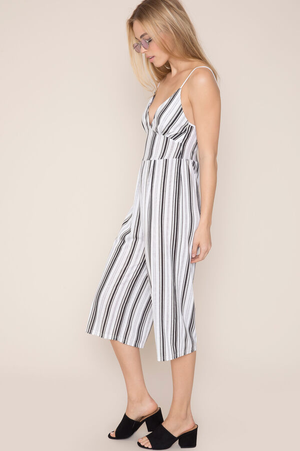 8b37944b60a Kendall Kendall   Kylie Striped Culotte Jumpsuit Kendall Kendall ...