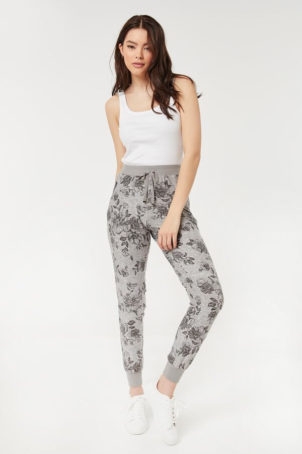 Slouchy Palm Tree Joggers