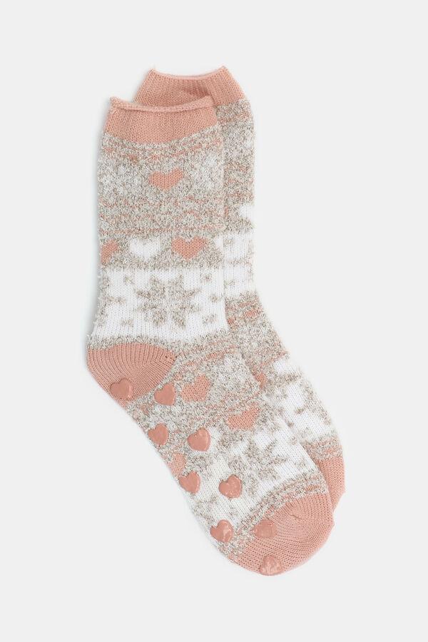 bc90b8e6ba03d Paire Paire de chaussettes pantoufles pour femme Ardène