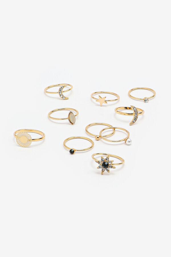 10-Pack Celestial Rings