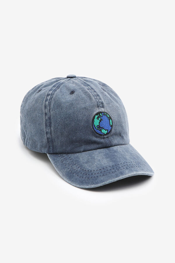 Baseball Cap with Earth Patch