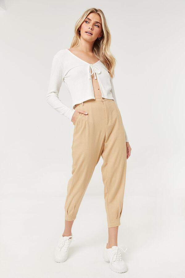 High Rise Linen Pants