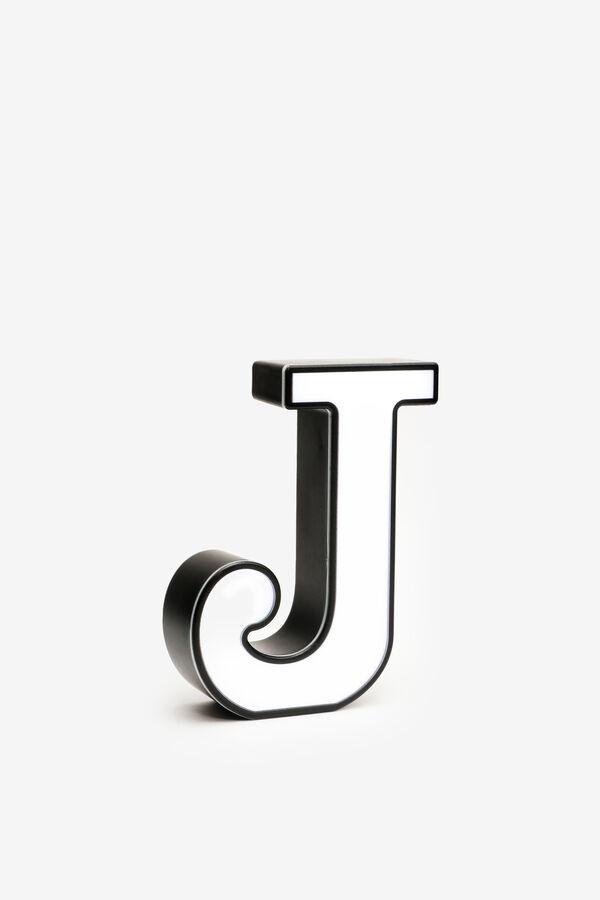 Light Up Letter J