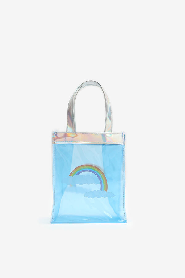 Rainbow Tote Bag for Girls