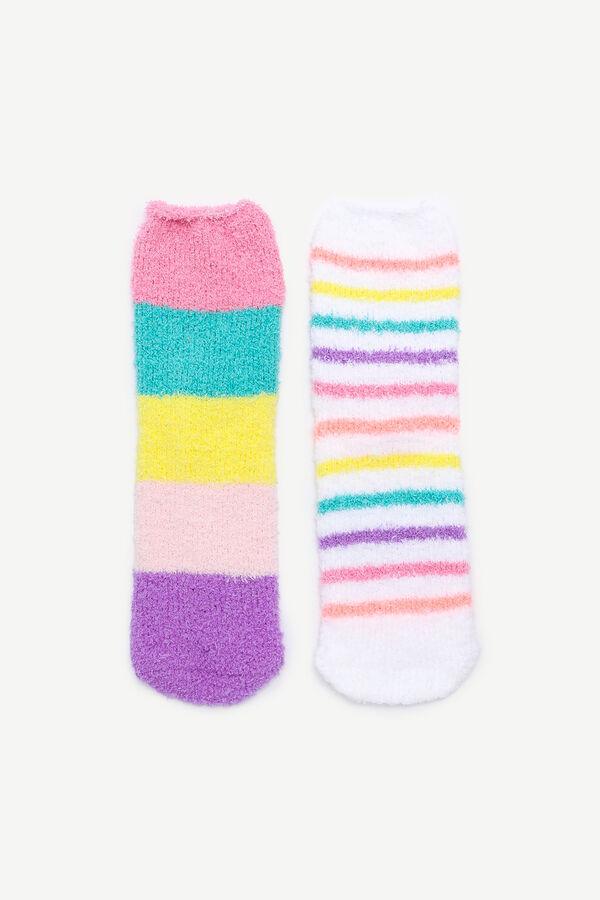 Cozy Lurex Socks