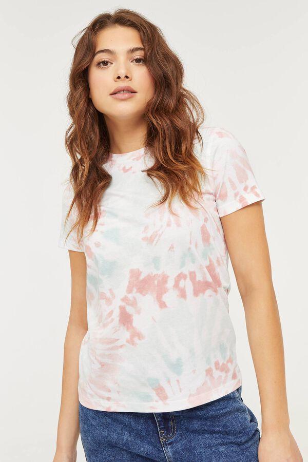 T-shirt tie-dye en coton