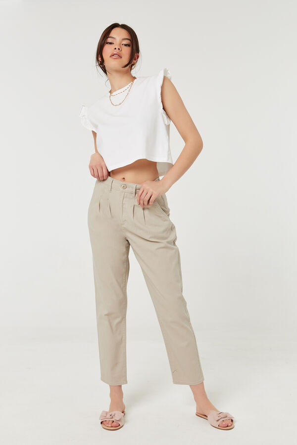 A.C.W. Pleated Pants