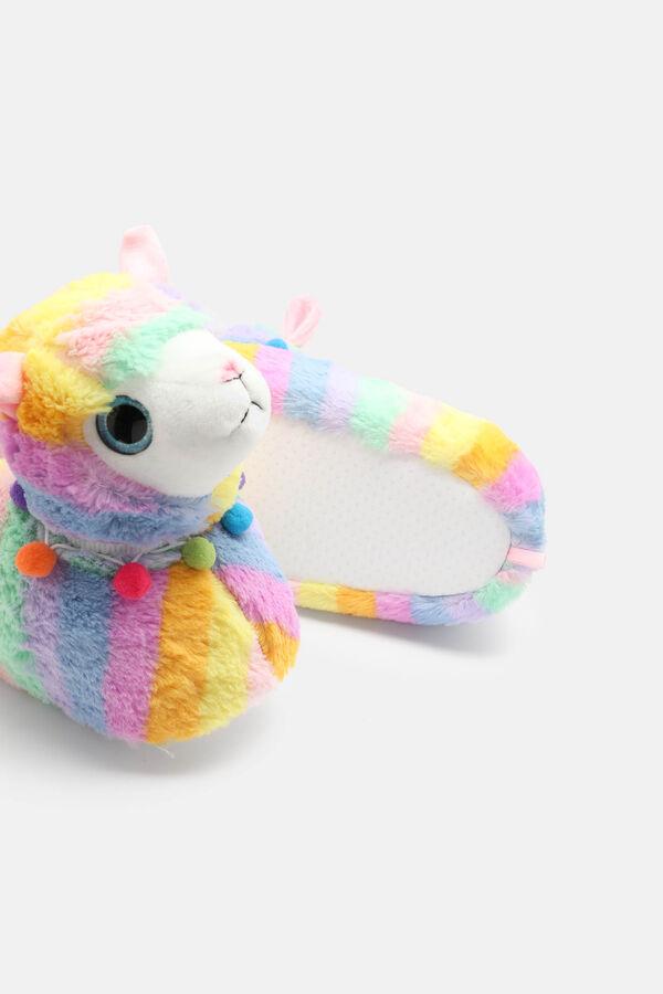 be646a0070eb Ardene Ardene Women s Rainbow Llama Slippers