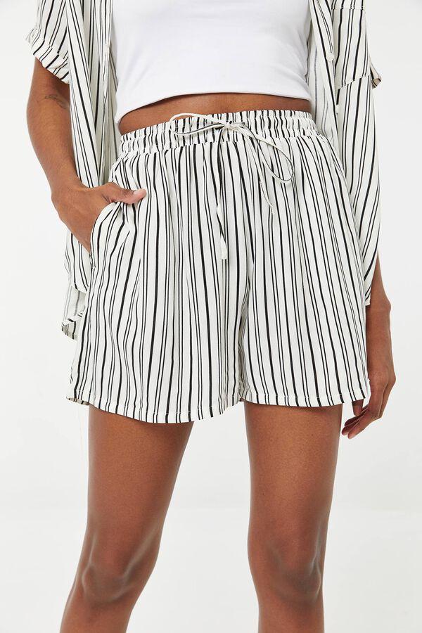 Striped Ultra High Rise Shorts