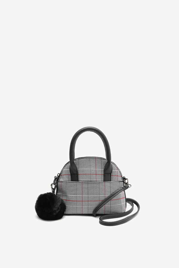 Small Glen Plaid Crossbody Bag
