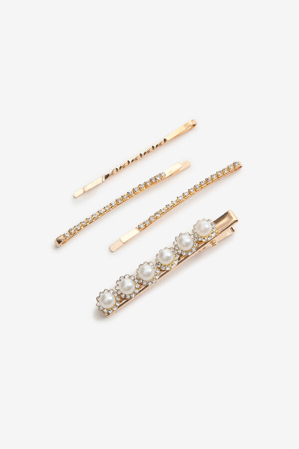 Pearl and Gemstone Hairpins