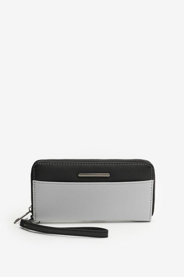 Colorblock Accordion Wallet