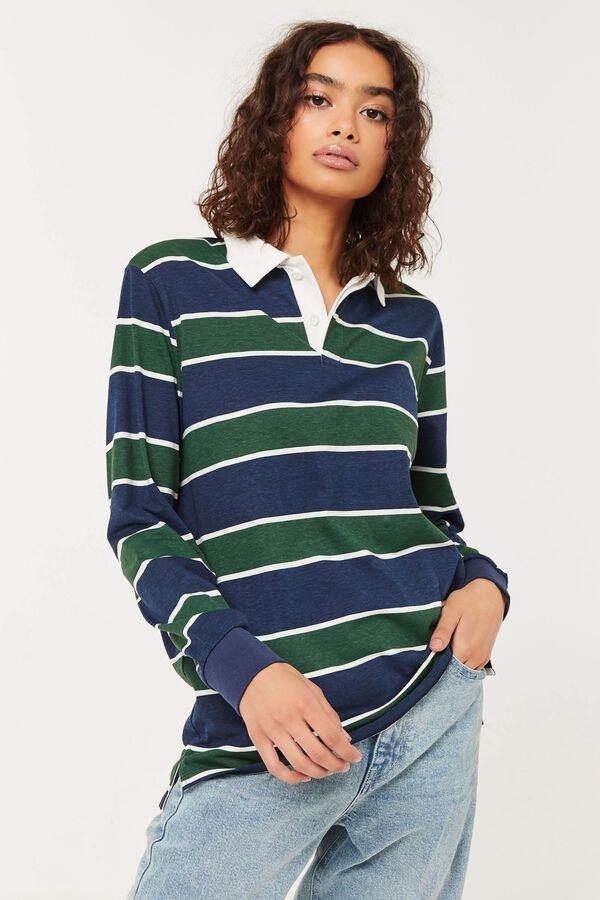 Polo classique en jersey de coton