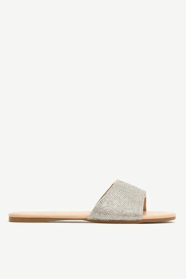 Gemstone Slide Sandals