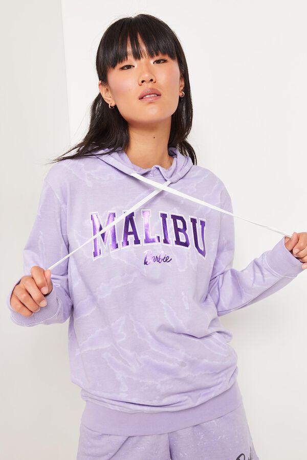 Molleton ample à capuchon Barbie Malibu