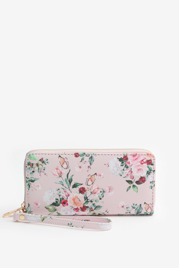 Portefeuille accordéon fleuri
