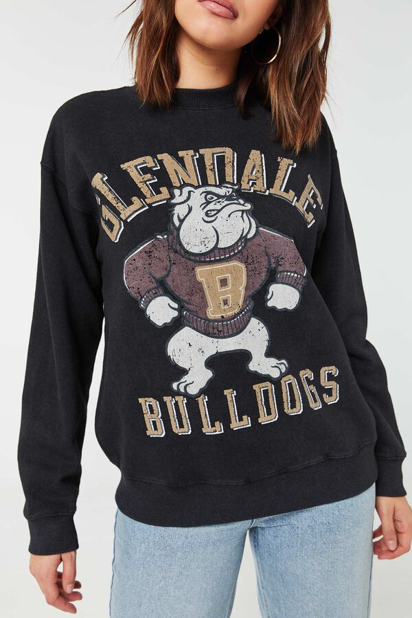 Bulldogs Classic Crew-Neck Sweatshirt
