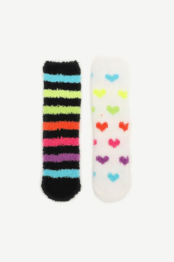 Pack of Cozy Printed Socks